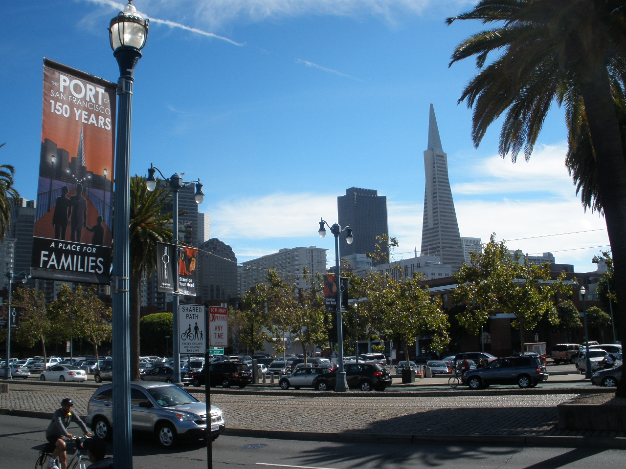 Embarcadero and Transamerica Pyramid